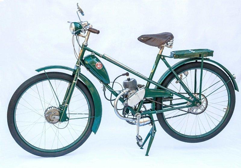 Мотовелосипед ЛВЗ В-902 велосипедный, дэшник, мопед, мотор