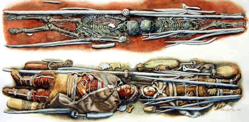 Сунгирь. Русь 25000 лет назад Русы, интересное, история, сунгирь, тайна