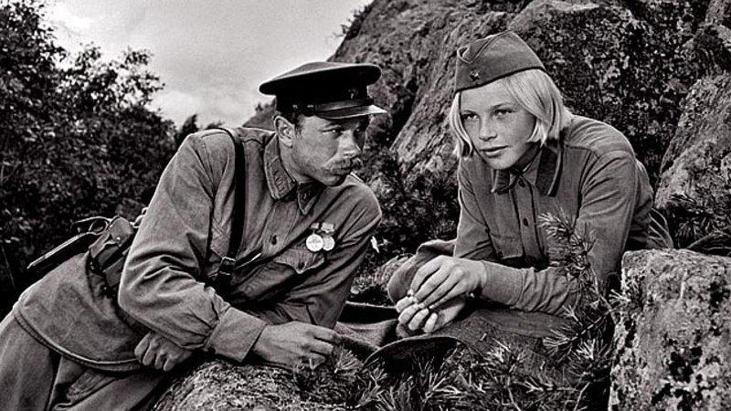 …А зори здесь тихие (1972) Великая Отечественная Война, весна, война, кино, победа, фильмы