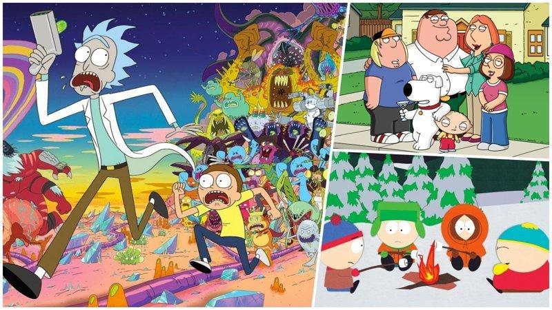 Во что залипнуть на выходных: 10 совсем не детских мультсериалов выходные, залипалово, мультсериалы, мультфильмы, симпсоны, футурама