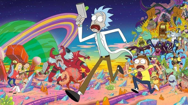 Рик и Морти выходные, залипалово, мультсериалы, мультфильмы, симпсоны, футурама