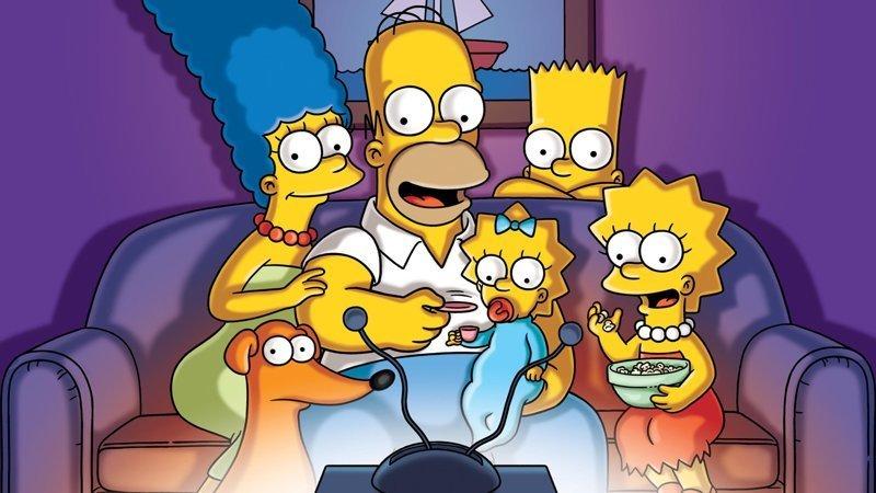 Симпсоны выходные, залипалово, мультсериалы, мультфильмы, симпсоны, футурама