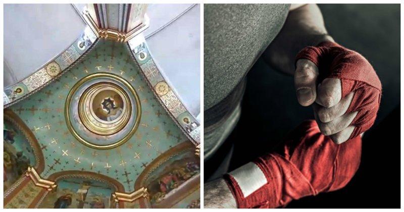 Утром - служба, вечером - бокс: в калининградском храме открывают клуб единоборств ynews, бокс, единоборства, клуб, молодежь, рпц
