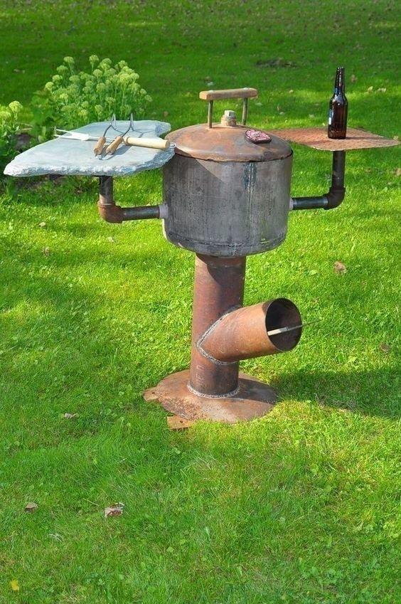 Мангалы-трубы Фабрика идей, жарить, интересное, коптить, мангал, своими руками, шашлык