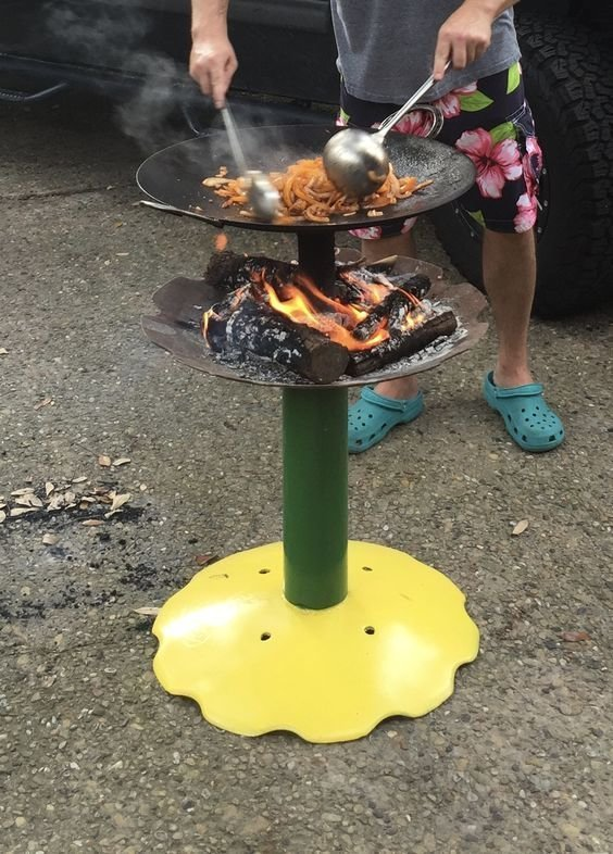 Мангальские страсти, или вариации на тему - на чем пожарить мяска Фабрика идей, жарить, интересное, коптить, мангал, своими руками, шашлык