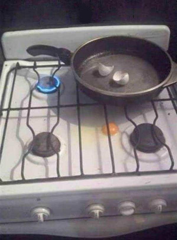 1. Мастерски приготовленная яичница готовка, еда, забавно, пища, подборка, пьяные, юмор