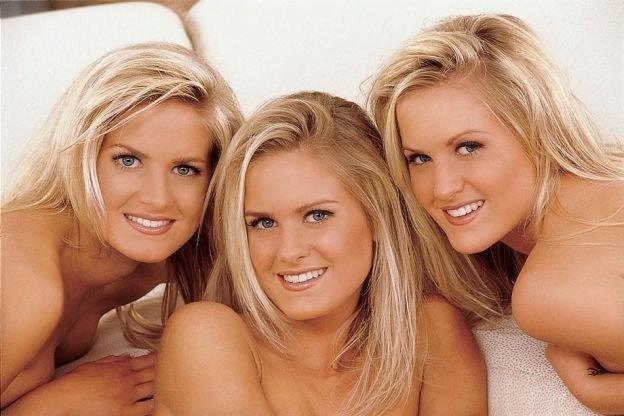 Чтобы иметь больше возможностей, тройняшки Дан переехали в Лос-Анджелес близнецы, в мире, днк, интересно, люди, сестры, ученые