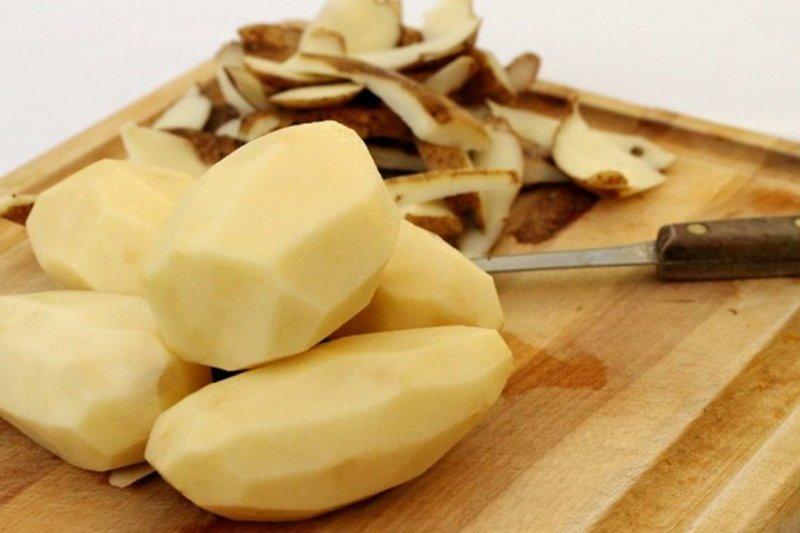 Вовкина картошка. История из детства история из жизни, картошка, кулинария, чистка картошки