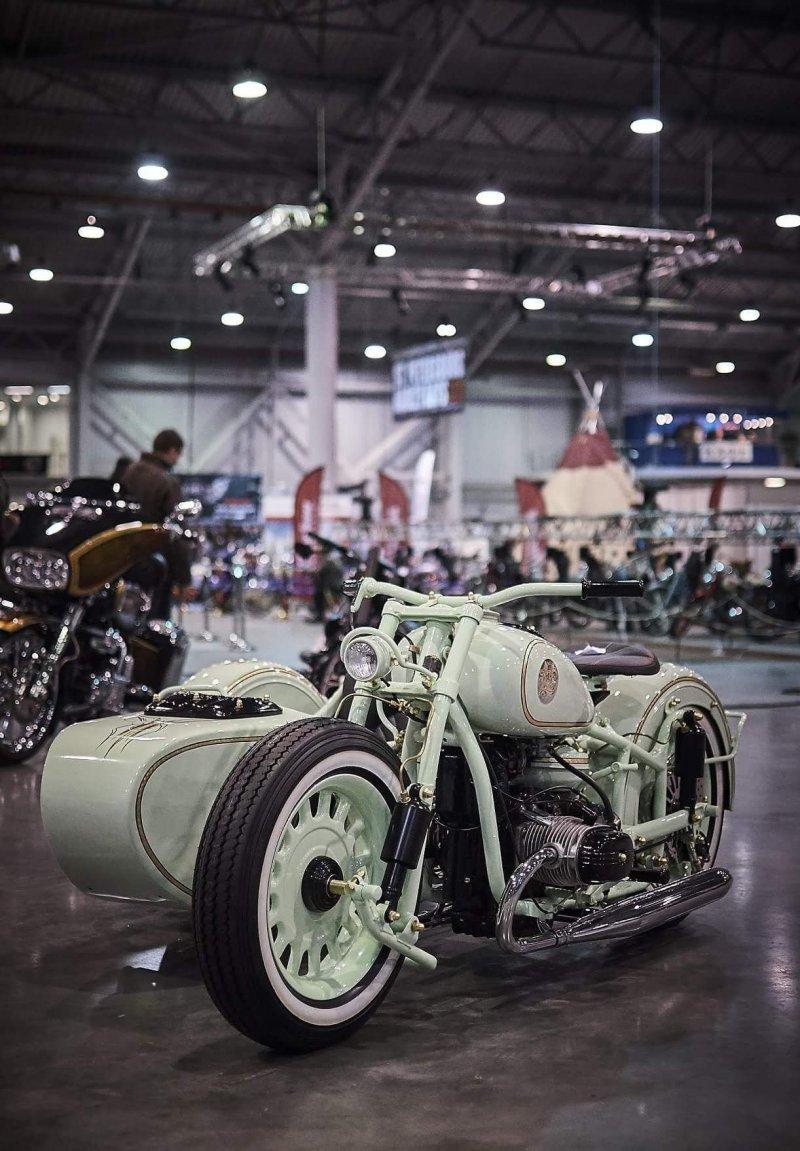 Проект Ural M-63 Low Ride занял безаговорочное 1 место в категории 3 wheels и просто поразил своей красотой и технологичностью. авто, байк, кастом-байк, кастомайзинг, мото, мототехника, мотоцикл, урал