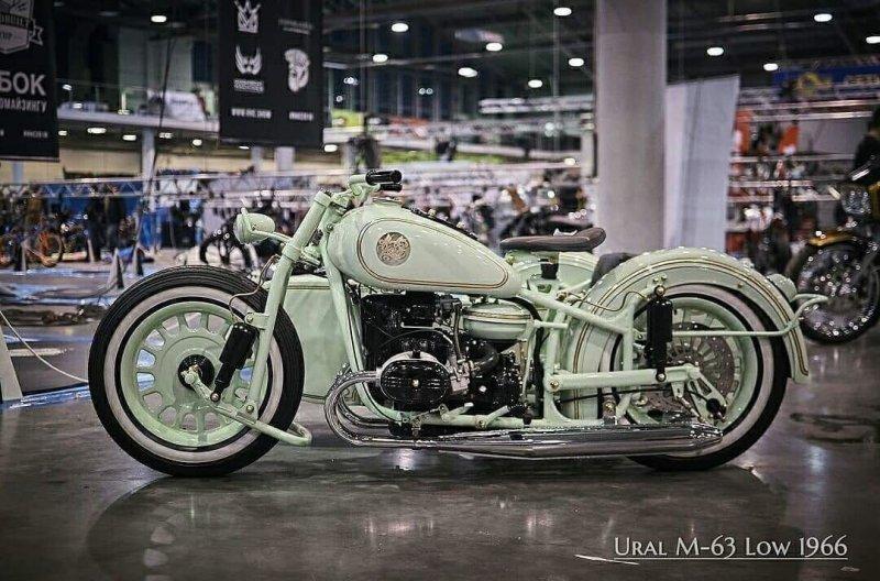 """Невероятный кастом из старого """"Урала"""" М-63 1966 года авто, байк, кастом-байк, кастомайзинг, мото, мототехника, мотоцикл, урал"""