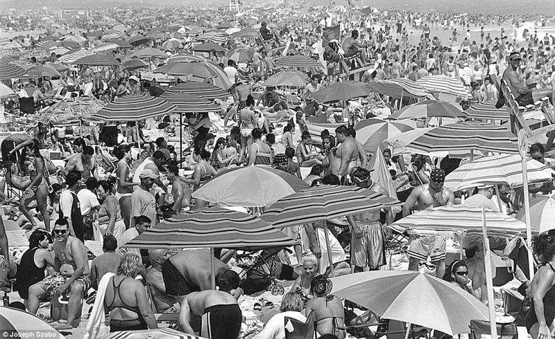 Джонс-Бич - популярное место на Лонг-Айленде, и в сезон там толпы народа команда, пляж, пляжные снимки, пляжные фото, пляжный патруль, спасатели, спасатель, фотопроект