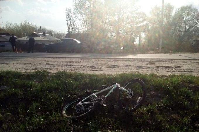 В Рязанской области водитель ВАЗа сбил ребенка на велосипеде авария, авто, авто авария, велосипед, велосипедист, видео, дети, дтп