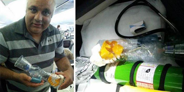 """11. """"Во время 8-часового перелета ребенку, страдающему от астмы, стало плохо. Его ингалятор оказался в чемодане, который сдали в багаж. На борту оказался доктор (Хуршид Гуру), который из подручных средств сделал ингалятор и спас ему жизнь"""". Добрые дела, добро, истории, люди, подборка, позитив, трогательно, фото"""