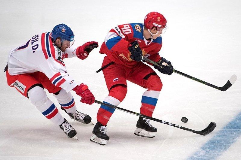 Сборная России забросила семь шайб и победила в первом матче на чемпионате мира сборная россии, хоккей, чемпионат мира