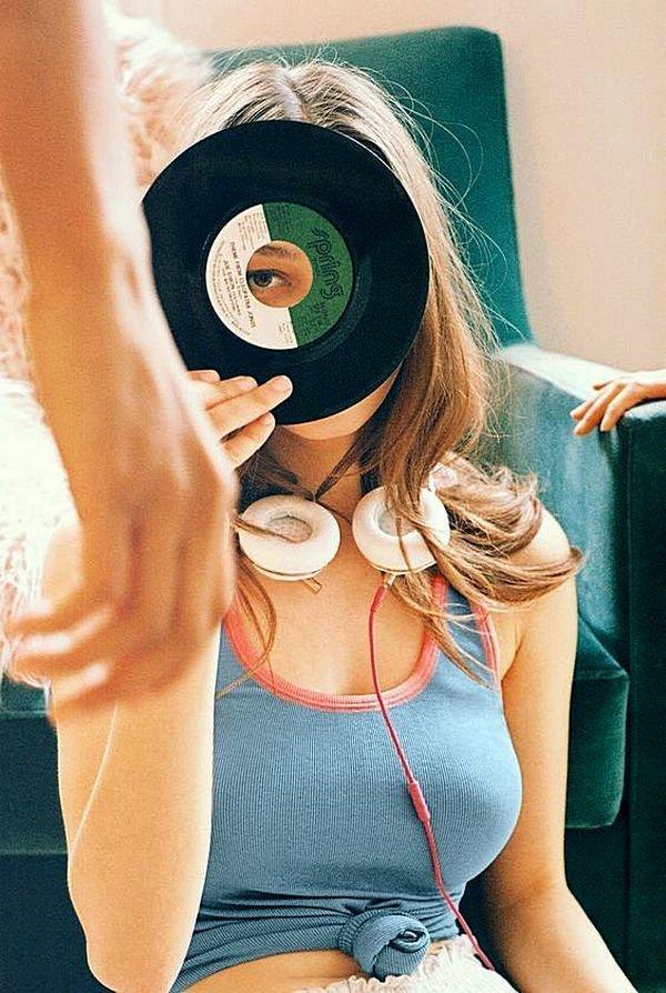 Меломанки женщины, музыка, фотографии