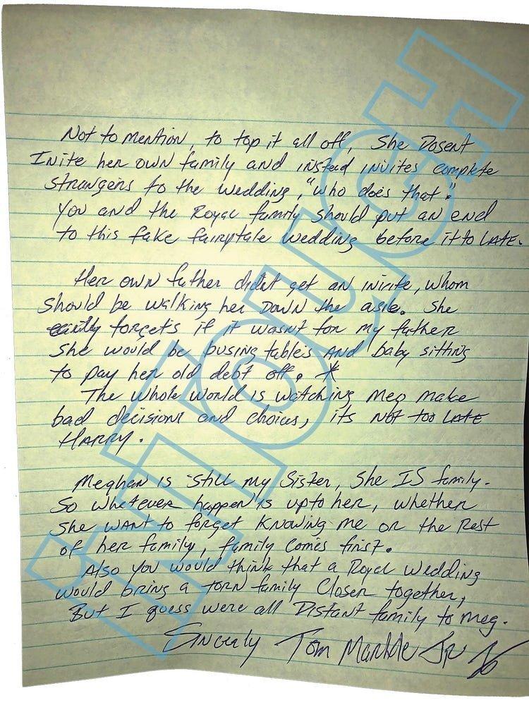 «Она мелкая, тщеславная женщина»: Брат Меган Маркл призвал принца Гарри отменить свадьбу Меган Маркл, брат, письмо, принц, свадьба, сестра
