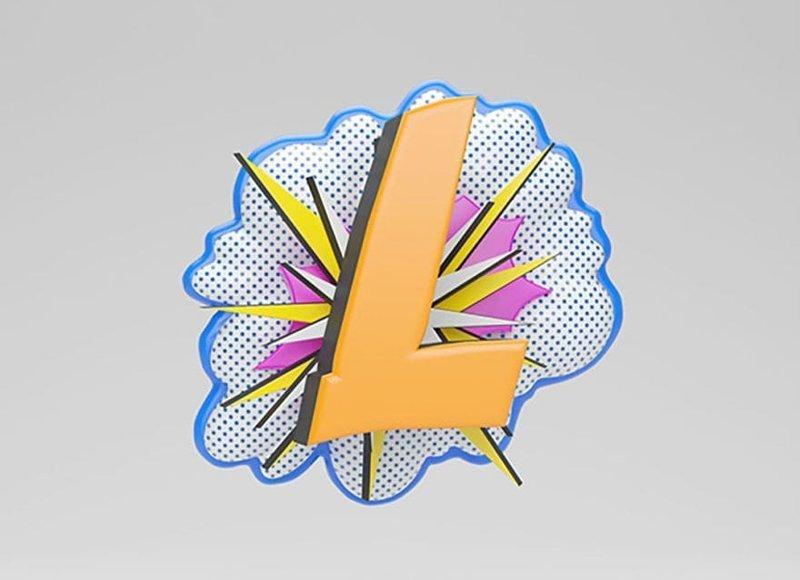 Рой Лихтенштейн алфавит, буква, дизайн, креатив, фантазия