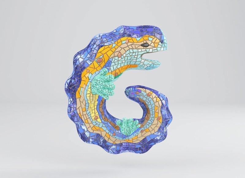 Антонио Гауди алфавит, буква, дизайн, креатив, фантазия