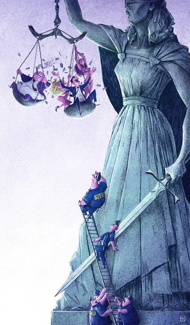 Правосудие Михаил Дзекан, в мире, карикатура, люди, мир, рисунок, фантазия, художник