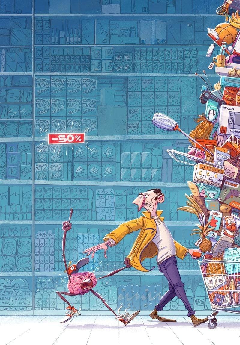 Скидки Михаил Дзекан, в мире, карикатура, люди, мир, рисунок, фантазия, художник