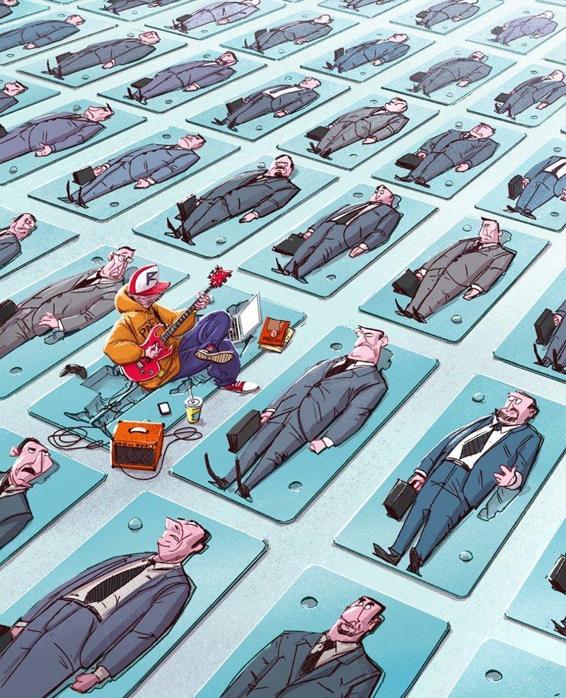 Фриланс Михаил Дзекан, в мире, карикатура, люди, мир, рисунок, фантазия, художник