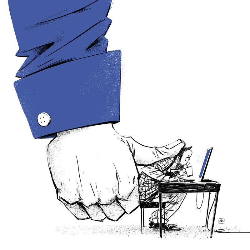 Ставь лайк! Михаил Дзекан, в мире, карикатура, люди, мир, рисунок, фантазия, художник