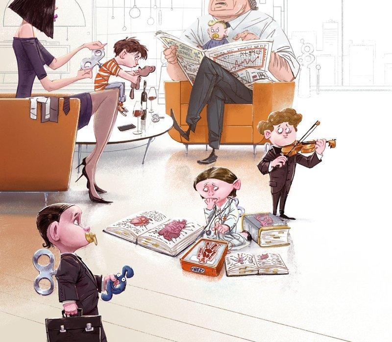 Завод Михаил Дзекан, в мире, карикатура, люди, мир, рисунок, фантазия, художник
