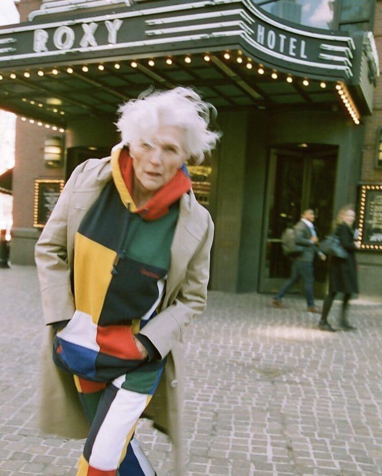Модель Мэй Маск недавно отметила своё 70-летие, но по ней так и не скажешь возраст, мама, модель, фотосессия