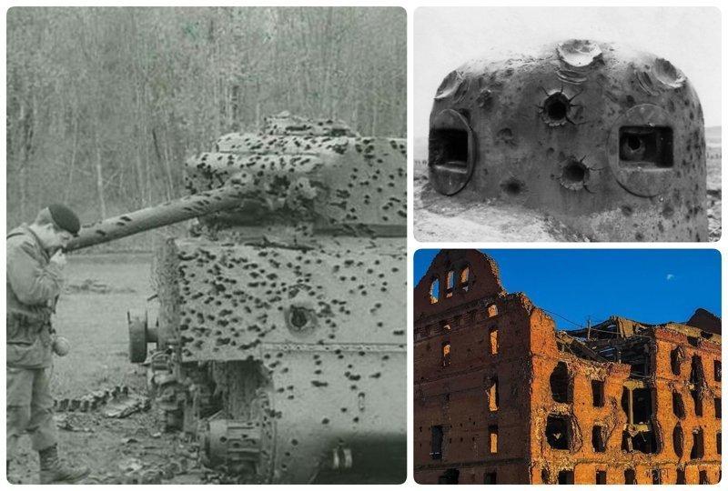 Эхо войны: пробиты, но не повержены боеприпасы, война, история, оружие, следы войны, танки, фото, эхо войны