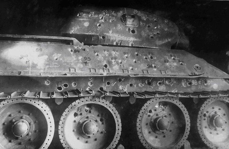 5. Испытание танка Т-34 боеприпасы, война, история, оружие, следы войны, танки, фото, эхо войны