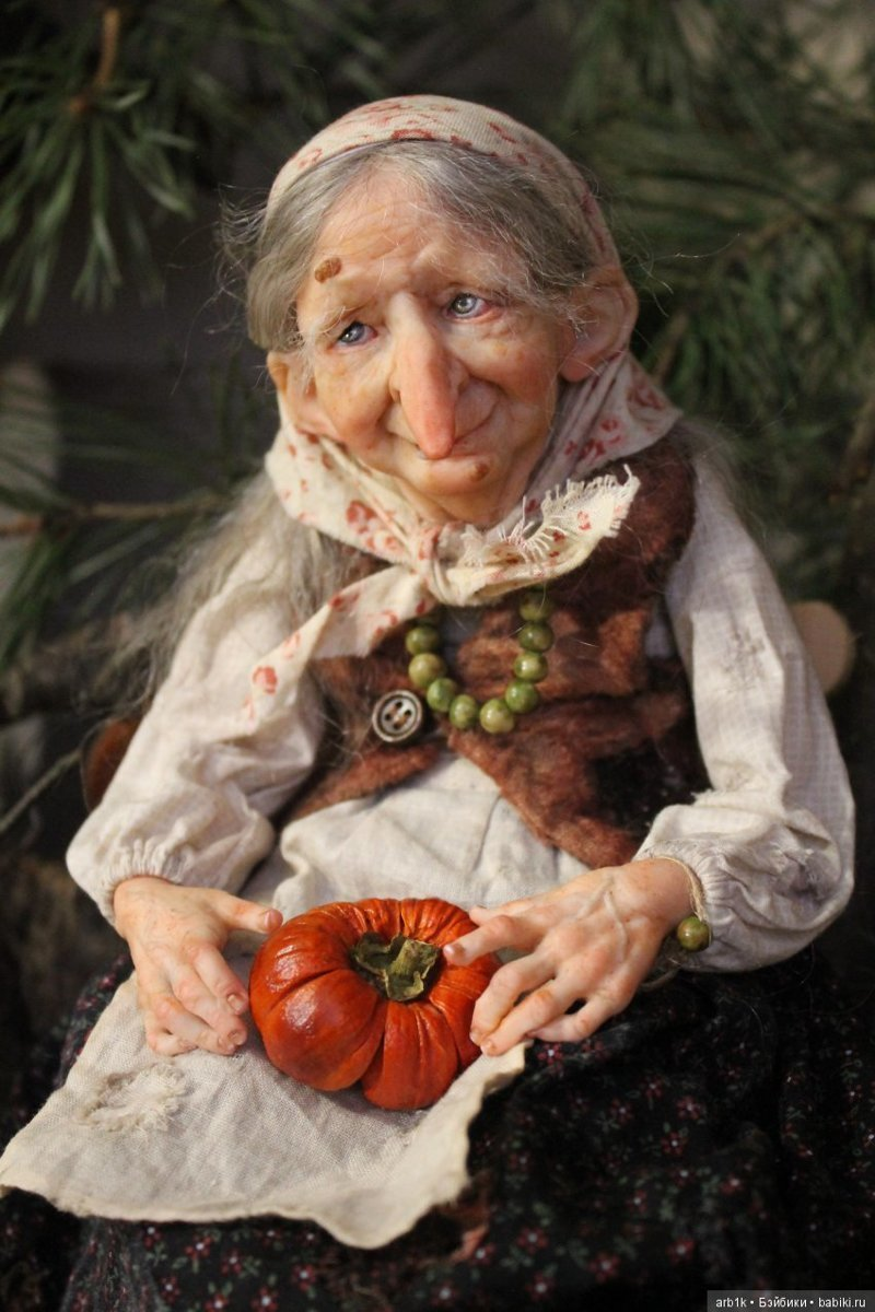 """Ещё одна """"Бабулечка-ягулечка"""". Катрушова Татьяна, авторские куклы, герои сказок"""