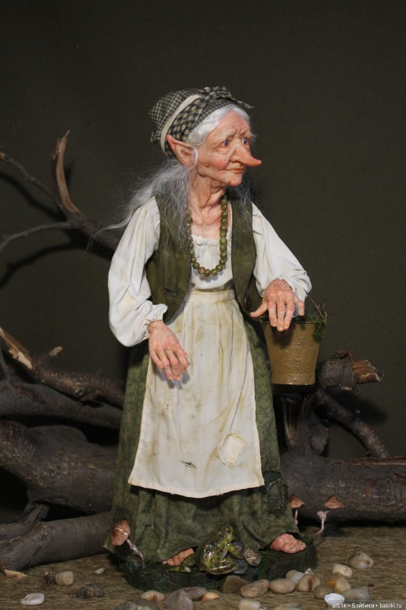 Кикимора болотная. Катрушова Татьяна, авторские куклы, герои сказок