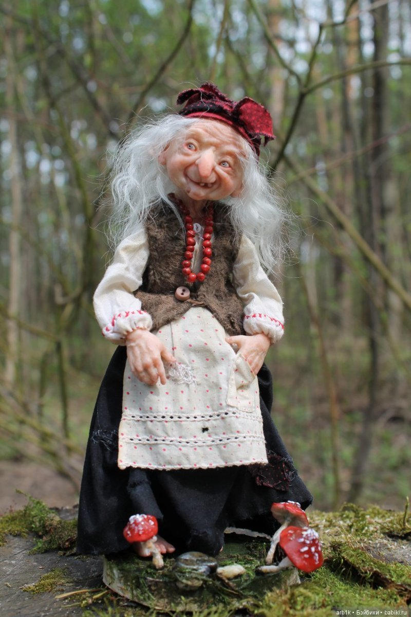Бабулечки-красотулечки. Катрушова Татьяна, авторские куклы, герои сказок