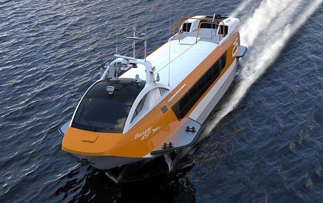 Летящий по волнам - 2 Сделано в России., валдай, судно на подводных крыльях