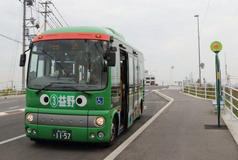 Забастовка водителей по-японски автобусы, забастовка, япония