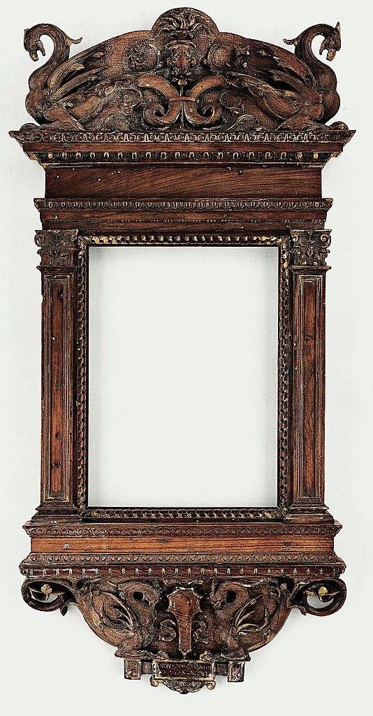 Италия, ок. 1530-го антиквариат, зеркала, интересное, красота, факты