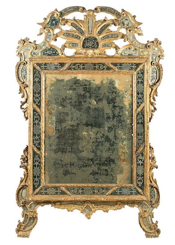 Венеция, XVIII век антиквариат, зеркала, интересное, красота, факты