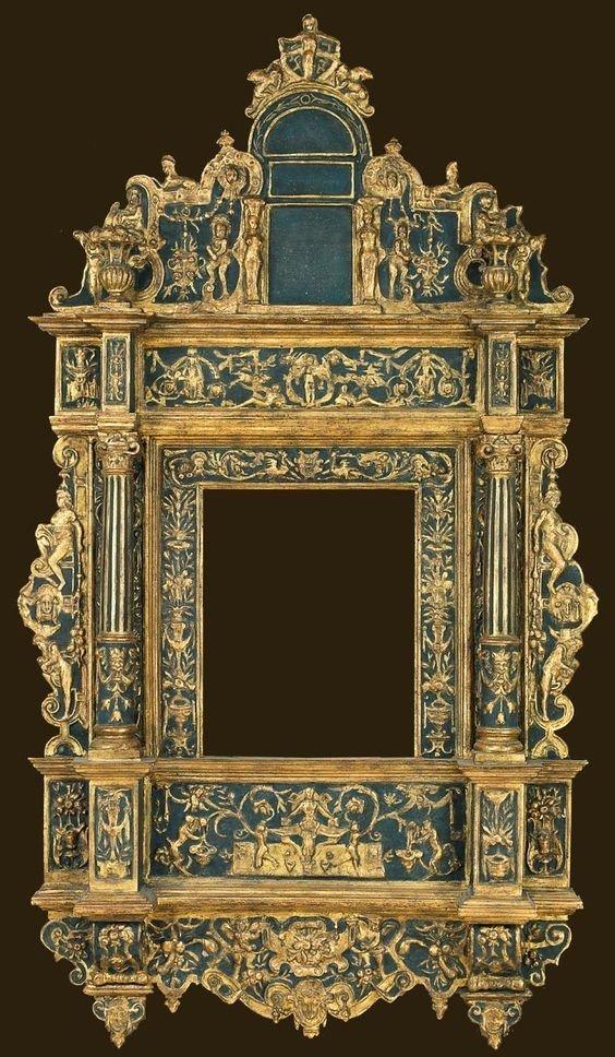 Еще Италия, 16 век антиквариат, зеркала, интересное, красота, факты