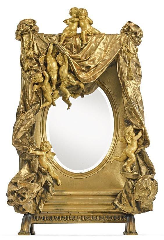 Густав Доре  1832 - 1883, Франция антиквариат, зеркала, интересное, красота, факты