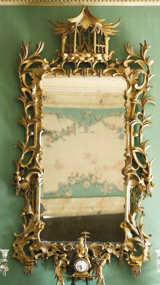 Зеркало George III, 18 век антиквариат, зеркала, интересное, красота, факты