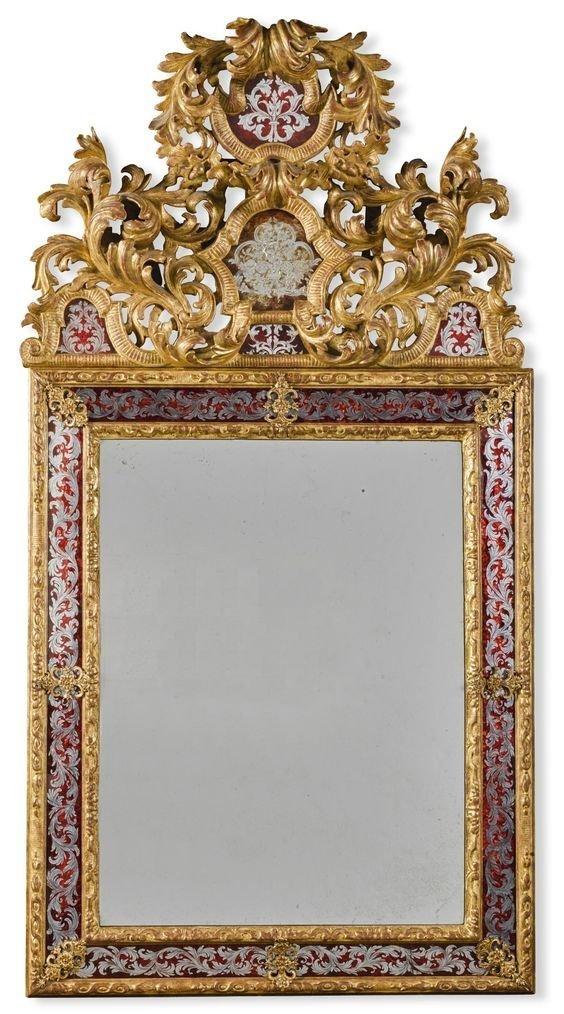 Зеркало в стиле Louis XIV , 17 век антиквариат, зеркала, интересное, красота, факты