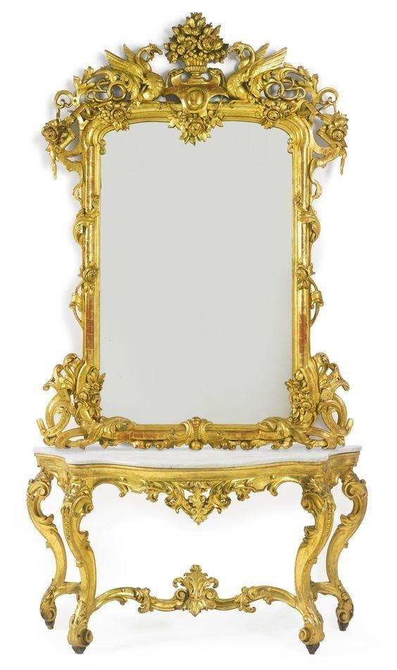 Стиль Louis XV антиквариат, зеркала, интересное, красота, факты