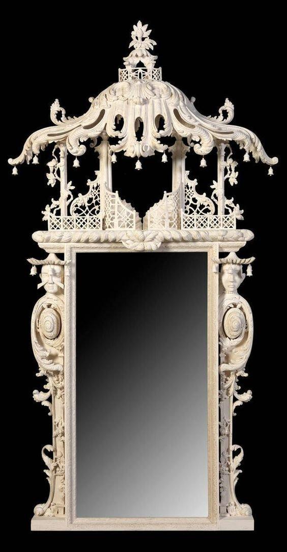 Современная работа китайских мастеров антиквариат, зеркала, интересное, красота, факты