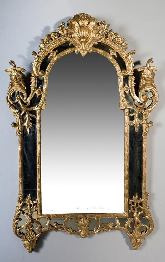 Франция, 1730-е антиквариат, зеркала, интересное, красота, факты