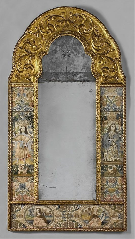 Англия, 17 век антиквариат, зеркала, интересное, красота, факты