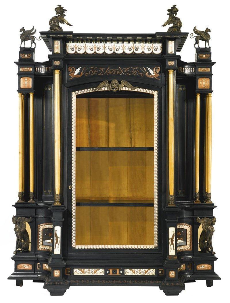 Зеркало Ivory (вставки из слоновой кости), 19 век антиквариат, зеркала, интересное, красота, факты
