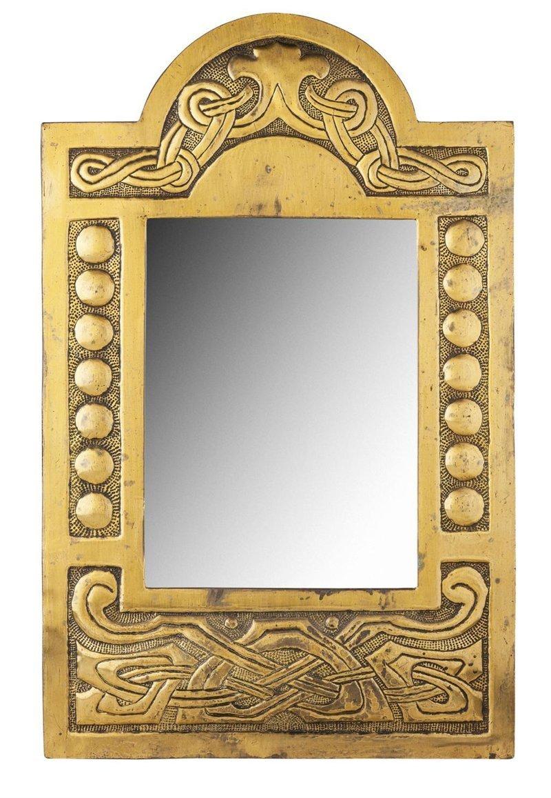 Зеркало в русском стиле, 19 век антиквариат, зеркала, интересное, красота, факты
