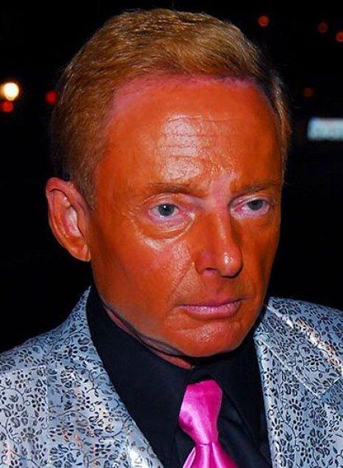 """Хорошо хоть, что в """"Звёздных войнах"""" Джордж Лукас в таком виде не появился автозагар, загар, кожа, люди, умора, фейл, цвет, юмор"""