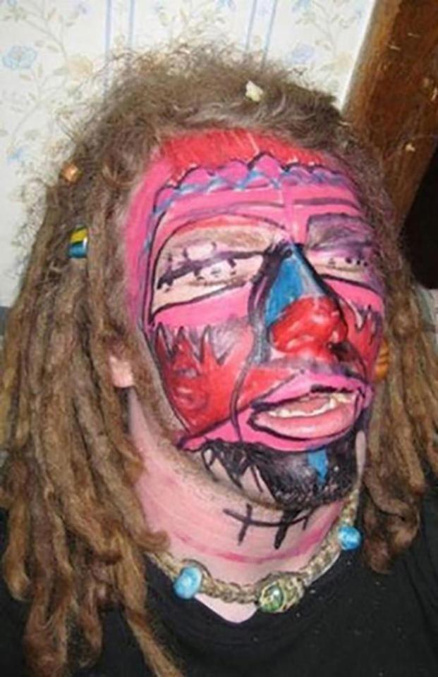А у этого свеженький макияж вечеринка, мальчишник, ничего себе, подшутили, подшутили над другом, приколы, холостяк приколы, шутки