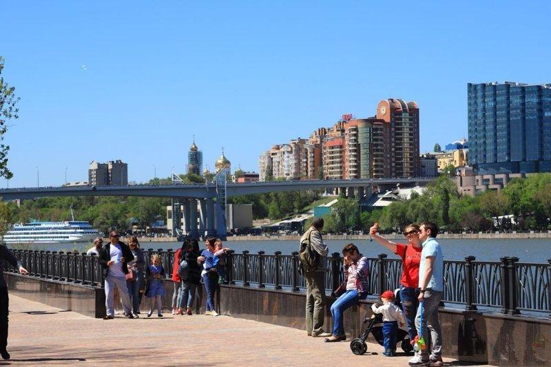 В Ростове торжественно открыли новую набережную на Левом берегу Дона: фоторепортаж дон, набережную, ростов, фоторепортаж